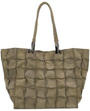 Jamin Puech - Borsa shopper - women - Suede - OS - GREEN