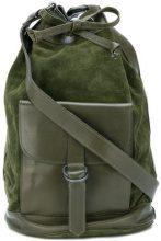 Yves Saint Laurent Vintage - bucket shoulder bag - women - Suede - OS - GREEN