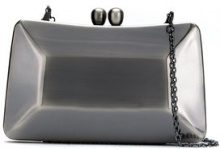 Serpui - metallic clutch - women - polyurethane - OS - METALLIC