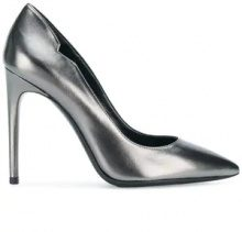 Pollini - stiletto pump - women - Leather - 36, 36.5, 37, 37.5, 38, 38.5, 39, 40 - METALLIC