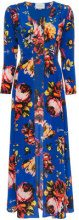 We Are Leone - Soprabito a fiori - women - Silk - XS/S, S/M, M/L - BLUE