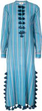 Figue - Paolina striped kaftan - women - Cotone/Viscose - XS, S, M, L - RED