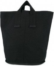 Cabas - Borsa tote 'Laundry Medium' - women - Cotone - OS - Nero