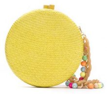 Serpui - straw clutch - women - Straw - OS - YELLOW & ORANGE