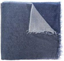 - Faliero Sarti - Sciarpa bicolore - women - seta/modal - Taglia Unica - di colore blu