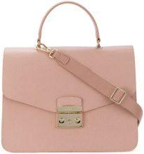 Furla - Metropolis tote bag - women - Leather/Nylon/Viscose - One Size - PINK & PURPLE