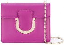 Salvatore Ferragamo - Thalia shoulder bag - women - Calf Leather - OS - Rosa & viola