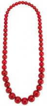 Olympiah - Marrocos beaded nacklace - women - Acrylic - OS - RED