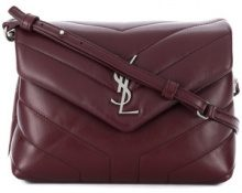 Saint Laurent - Borsa a tracolla Loulou - women - Calf Leather - OS - Rosso
