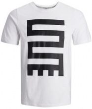 JACK & JONES Printed T-shirt Men White