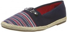 Tom Tailor 4892001, Espadrillas Donna, Blu (Navy), 39 EU