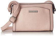 Tamaris Elsa Crossbody Bag S - Borse a tracolla Donna, Pink (Rose Comb.), 9x16x21 cm (B x H T)