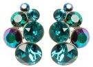 PETIT GLAMOUR - Orecchini - blue/green