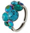 PETIT GLAMOUR - Anello - blue/green