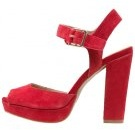 Sandali con i tacchi - red