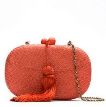 - Serpui - straw clutch - women - Straw - Taglia Unica - Giallo & arancio