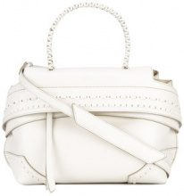 Tod's - fold-over closure tote - women - Leather - OS - NUDE & NEUTRALS