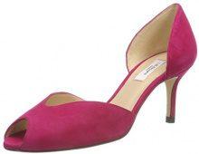 LK BENNETT Tatiana, Scarpe col Tacco Punta Aperta Donna, Rosa (Power Pink 135), 39 EU