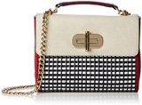 Tommy Hilfiger - Turn Lock Crossover Woven, Borsa da donna