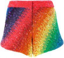 Manish Arora - Shorts 'Rainbow' - women - Nylon/Polyester - XS, S, M - MULTICOLOUR