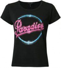 Marc Jacobs - Paradise '70s T-Shirt - women - Cotton - XS, S - BLACK