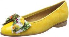 Gabor Shoes Basic, Ballerine Donna, Giallo (Sun), 38.5 EU