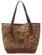 SUNA - Shopping bag - cognac