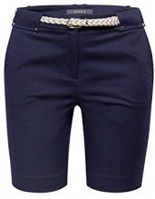 ESPRIT Collection 058eo1c002, Pantaloncini Donna, Blu (Navy 400), W34 (Taglia Produttore: 34)