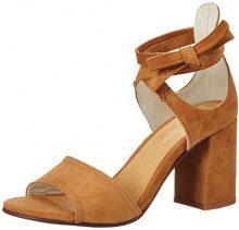 Marc O'Polo70214021303302 High Heel Sandal - Sandali Donna, Marrone (Marrone (Cognac)), 42