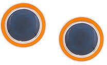 Silhouette - round earrings - women - 1 - OS - BLUE