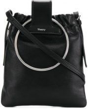 Theory - Borsa a spalla 'Post' - women - Leather - OS - Nero