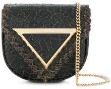 Giaquinto - Borsa a tracolla 'Candy' - women - Leather - OS - Nero