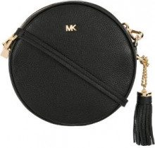 Michael Michael Kors - Borsa a tracolla media - women - Leather - One Size - Nero
