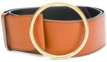 Givenchy - classic buckled belt - women - Goat Skin - 80 - Marrone