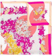 Emilio Pucci - printed foulard - women - Silk - OS - Rosa & viola