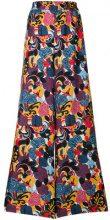 La Doublej - Pantaloni a palazzo - women - Silk - XS, M, XL - BLUE