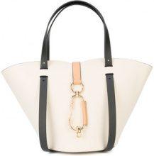 Zac Zac Posen - Belay small tote bag - women - Calf Leather - OS - WHITE