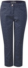 Cecil 371438 New York Minimal, Pantaloni Donna, Blu (Deep Blue 20128), W31