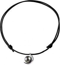 Pearls & Colors collana con ciondolo-argento 925 Tahiti-acqua dolce 42 cm PC-CMT14