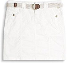edc by Esprit 037cc1d007, Gonna Donna, Bianco (White), 34
