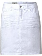 Street One 360230, Gonna Donna, Bianco (White Denim 11371), 46