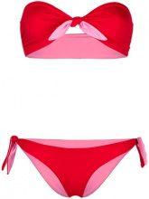 Tara Matthews - Murtoli reversible bikini set - women - Polyester/Spandex/Elastane - 0, 1, 2, 3 - Rosso