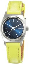 Nixon Small Time Teller Navy/Neon Yellow - Watch