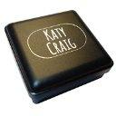 Katy Craig - Orecchini a lobo in argento puro a forma di fiorellino con cristalli (0,8 x 0,8 cm), in confezione regalo, colore: Blu
