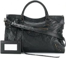 Balenciaga - Borsa a spalla 'Classic City AJ' - women - Leather - OS - BLACK