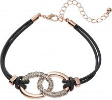 Bracciale con strass (Marrone) - bpc bonprix collection