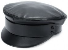 Ruslan Baginskiy - Cappello 'Captain' - women - Leather - S, M - BLACK