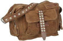 Taschendieb Td0060a - Borse a tracolla Donna, Grau (Anthrazit), 12x25x35 cm (B x H T)