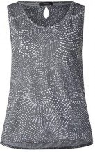 Cecil 312164 Friederike, Canottiera Donna, Grigio (Graphit Light Grey 20498), M