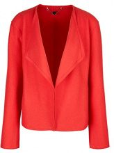 Marc Cain Collections HC 31.61 J30, Cappotto Donna, Multicolore (Poppy Red 260), 50(Taglia del Produttore: N6 / 44)